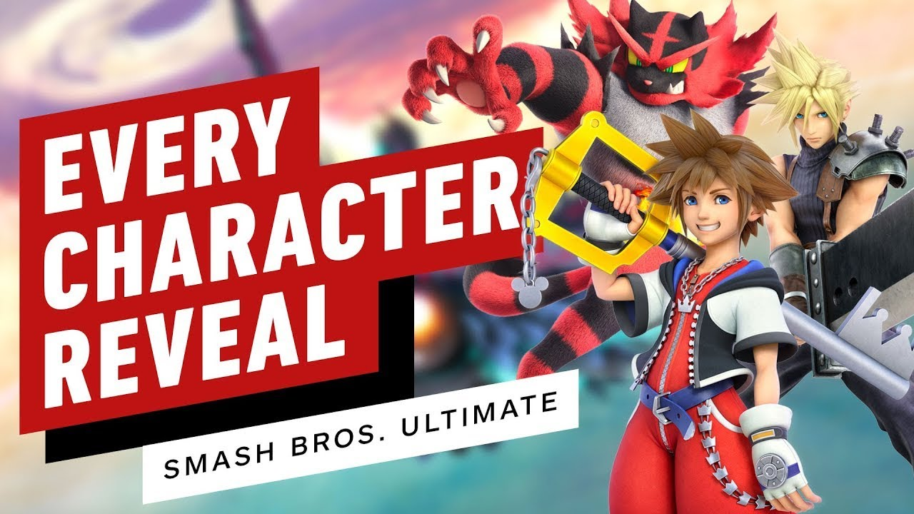 Download Super Smash Bros. Ultimate - Every New Character Reveal Trailer