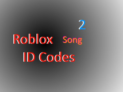 Roblox ID song codes