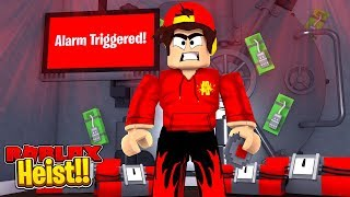 ROBLOX - HEIST - THE NEW BEST ROBLOX GAME!!