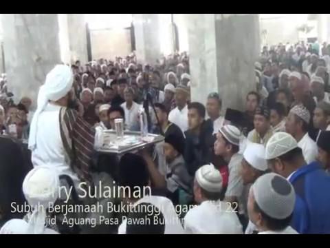Ceramah FULL Derry Sulaiman SB22 Masjid Agung Bukittinggi