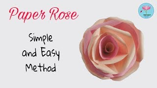 DIY: Paper Rose | origami flower