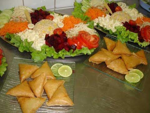 Palace déco : exemples de plats traiteur