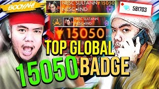 NGABISIN 600.000 DIAMONDS BUAT BELI 15.000 BADGE TERBARU!! TOP GLOBAL! - Free Fire Indonesia #65