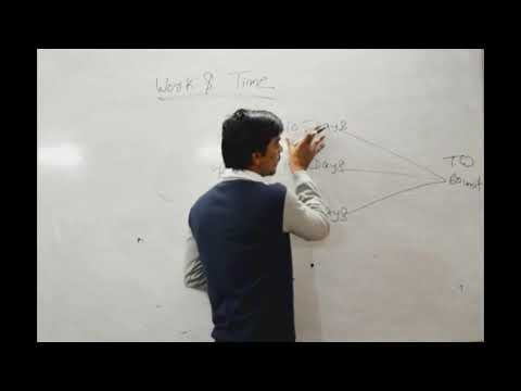Work and time by Anuj tiwari || Part 1||