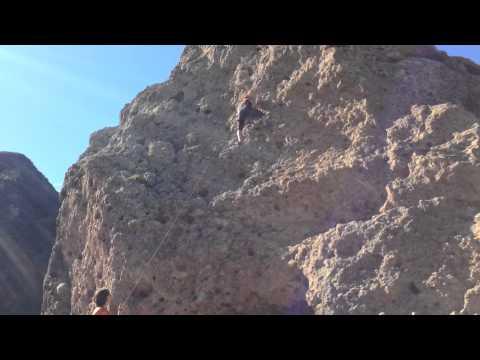 Beginner Rock Climbing at Malibu Canyon State Park