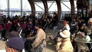2011年3月27日日曜日 瀬戸内国際芸術祭 春イベント MUSIC PARADEにて.