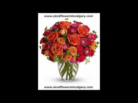 Send flowers from Liechtenstein to Calgary Alberta Canada