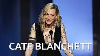 Cate Blanchett honors George Clooney at the 46th AFI Life Achievement Award Tribute