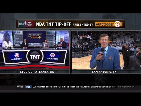 [Playoffs Ep. 12/15-16] Inside The NBA (on TNT) Tip-Off -  OKC Thunder vs. Spurs - Game 1 Preview