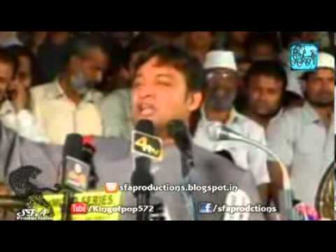 Akber Owaisi Replied To All , Who Says To Register A FIR On His Speech ( Must Watch ).flv