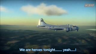 [GMV] Janji feat. Johnning : Heroes Tonight with lyrics (War Thunder Music Video)