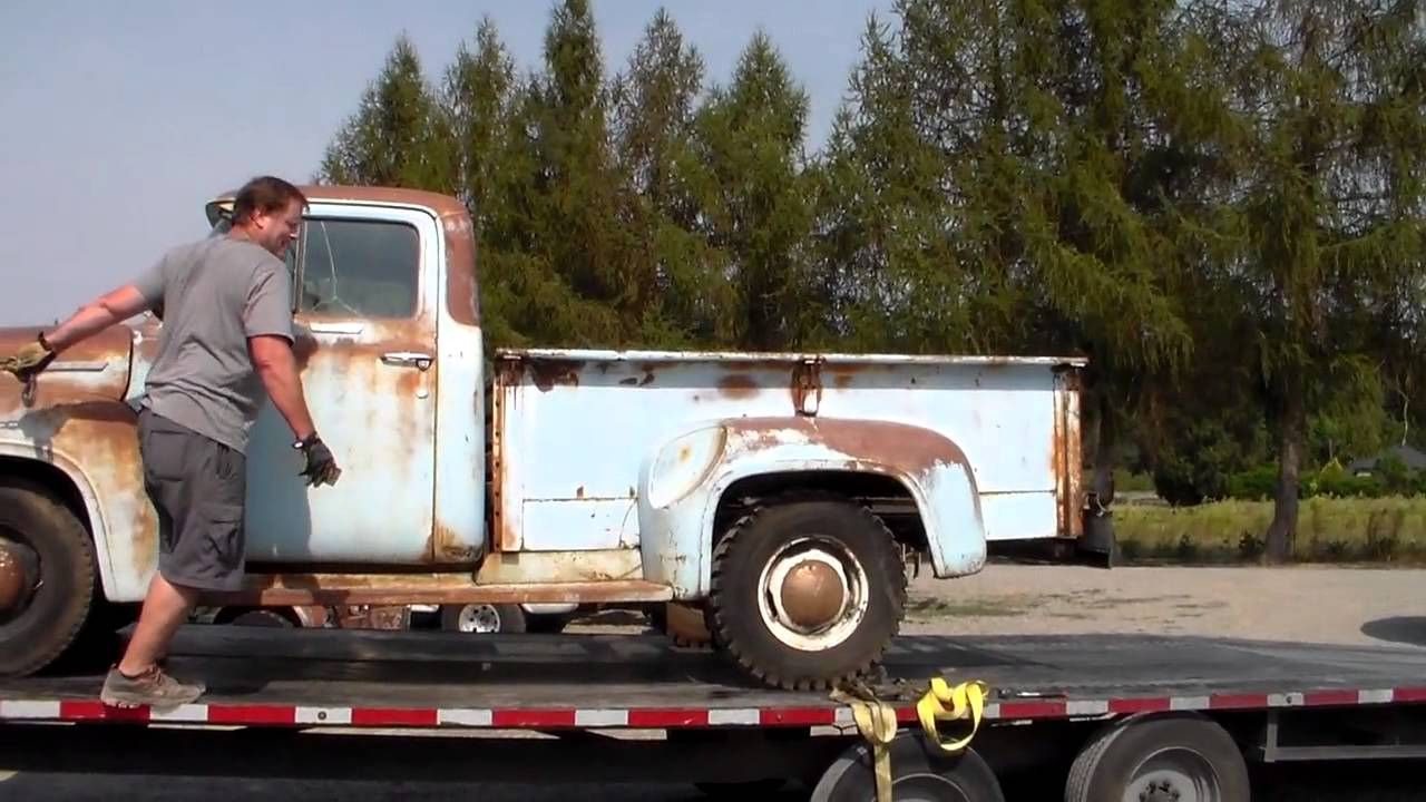 Classic Truck Rescue 57 Chevy & 56 Ford - YouTube