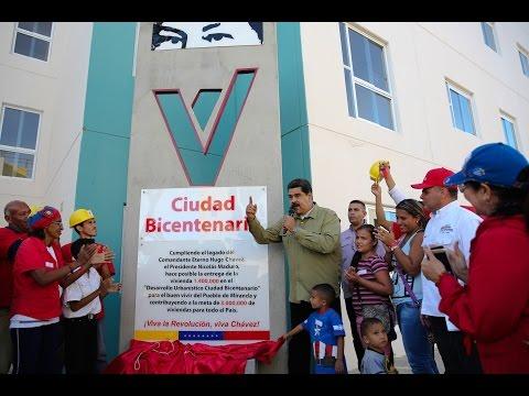 Presidente venezolano Nicolás Maduro entrega vivienda 1.400.000 en Santa Teresa del Tuy
