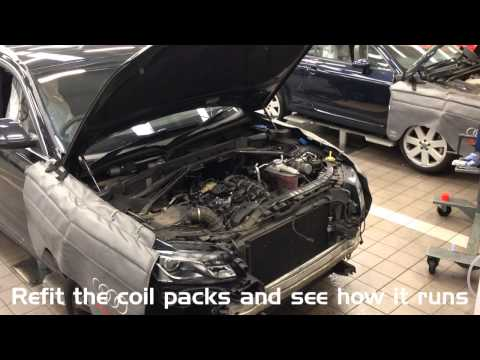 Audi Q5 2.0 TFSI Piston and conrod replacement for excessive oil consumption