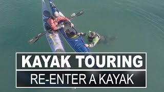 Kayak Touring | How to Re-Enter a Sit Inside Touring Kayak