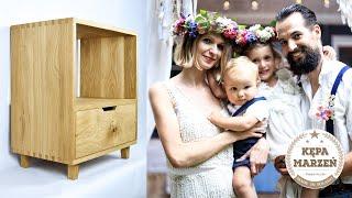 Wyjatkowy kurs stolarski   Budowa szafki na winyle i drewniana rocznica ślubu 🌺