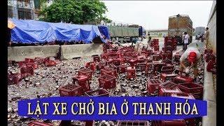 1.000 két bia tung tóe giữa đường phố Thanh Hóa