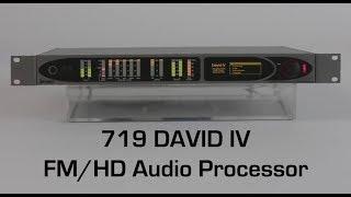 719 - DAVID IV FM/HD Audio Processor - ENG
