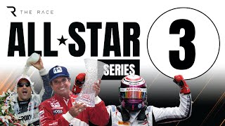 The Race All-Star esports Battle Rd. 3 - Stars from F1 vs Indycar vs Nascar vs Super GT vs Formula E on FREECABLE TV