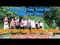Karaoke Chèo Tone Nữ - HÃY YÊU QUÊ HƯƠNG MÌNH (Điệu Đào Liễu) | SL: Dương Hùng