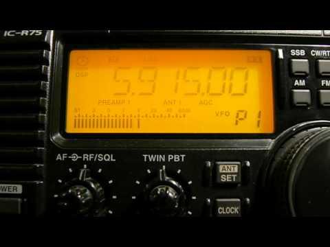 5915khz, Zambia NBC Radio 1,Lusaka,ZMB,Vernacular.