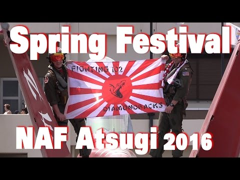 NAF Naval Air Facility Atsugi Spring Festival 2016 厚木基地日米親善春まつり[まとめ]