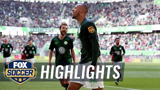 VfL Wolfsburg vs. 1. FC Nurnberg | 2019 Bundesliga Highlights
