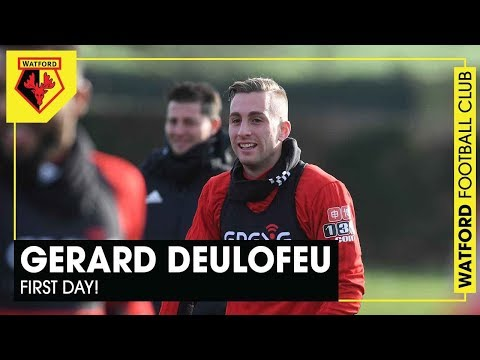 DEULOFEU 🇪🇸 | First day with the Hornets!