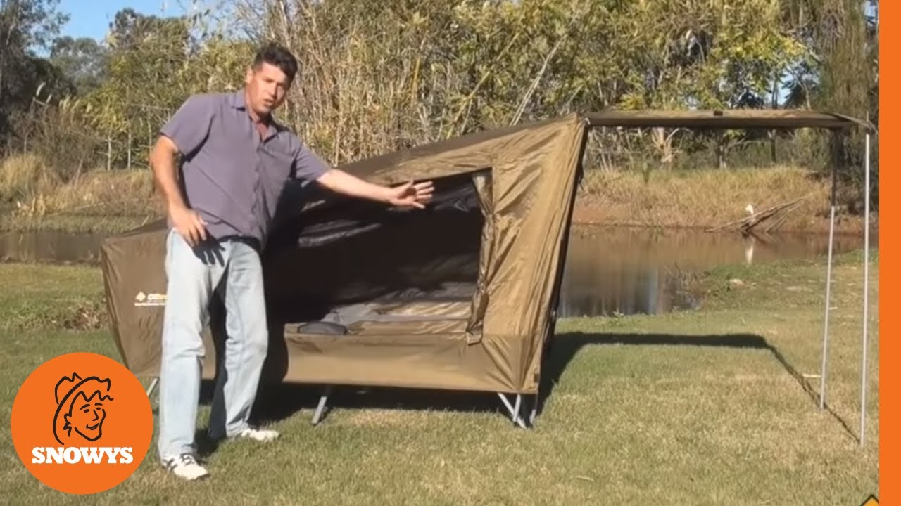 sc 1 st  YouTube & Oztrail Easy Fold Stretcher Tent - YouTube