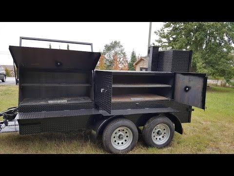 Bigfoot Smoker Catering Food Truck Business Grill Trailer