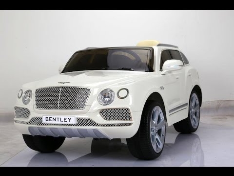 Bentley Bentayga 24V Car for Kids($250) - Unboxing, Review and RIDING! BEST CAR