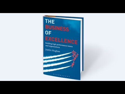 The Business of Excellence - the author's perspective