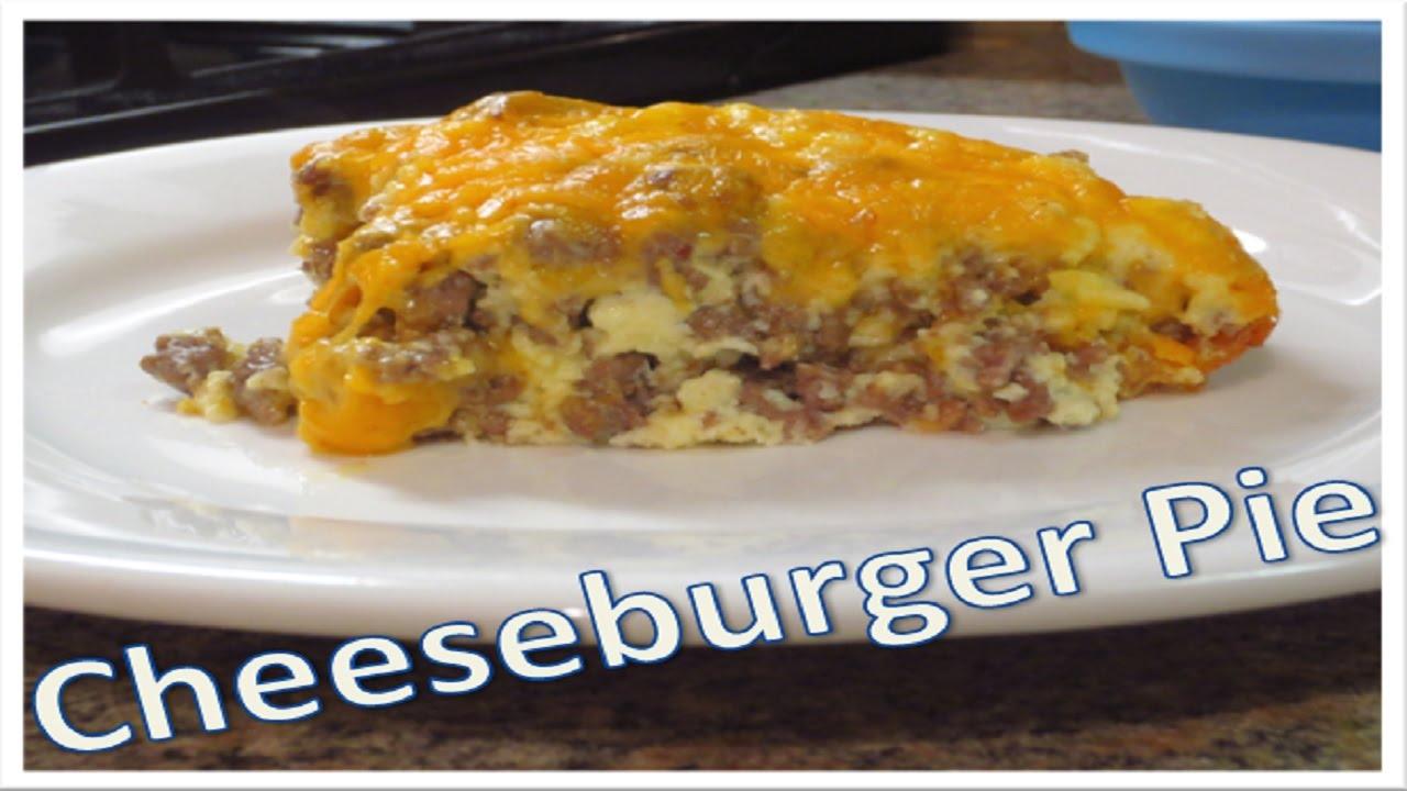 Cheeseburger Pie Pinterest Recipe