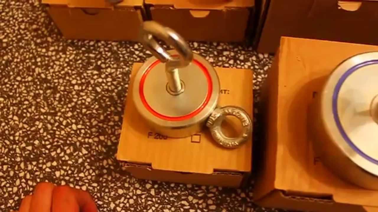 Поисковый магнит F300*2 - YouTube