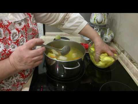 Похлебка со свиными ребрышками/Картофельный суп