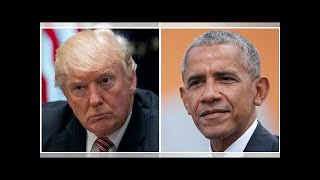 New Rasmussen Poll Compares Trump's Approval Rating to Obama's