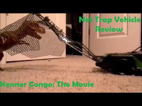 Kenner Congo: The Movie Net Trap Vehicle Review