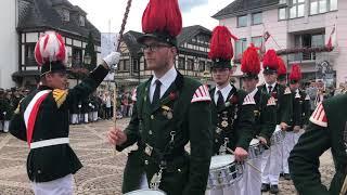 Schützenfest 2019 - Parade der Junggesellen Fronleichnam