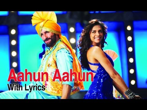 Aahun Aahun (Lyrical Full Song) | Love Aaj Kal | Saif Ali Khan & Deepika Padukone