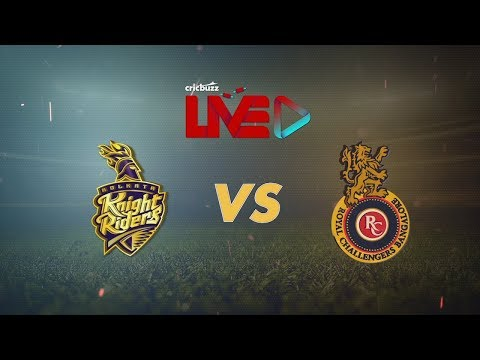Cricbuzz Live: KKR vs RCB Pre-match show