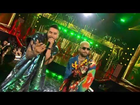 Reykon – Latina (feat. Maluma)[Premios Juventud 2019 Performance]