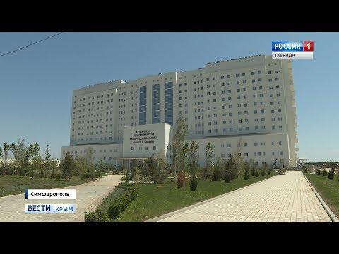 В Симферополе продолжается строительство больницы имени Семашко