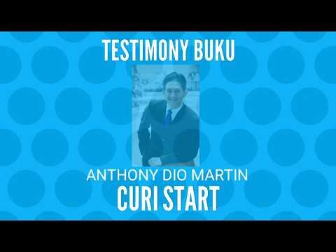 FUN MASTER Academy - Testimoni buku #CURISTART (Anthony Dio Martin)