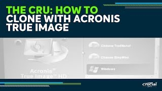 Video THE CRU: Cloning with Acronis True Image HD download MP3, 3GP, MP4, WEBM, AVI, FLV Juni 2018