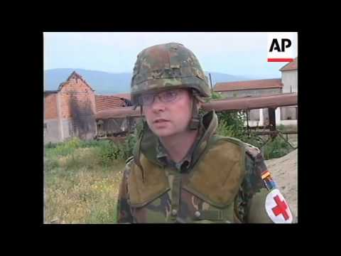 YUGOSLAVIA: KOSOVO: SUSPECTED MASSACRE SITE DISCOVERED