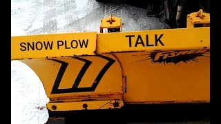 Snow plow talk