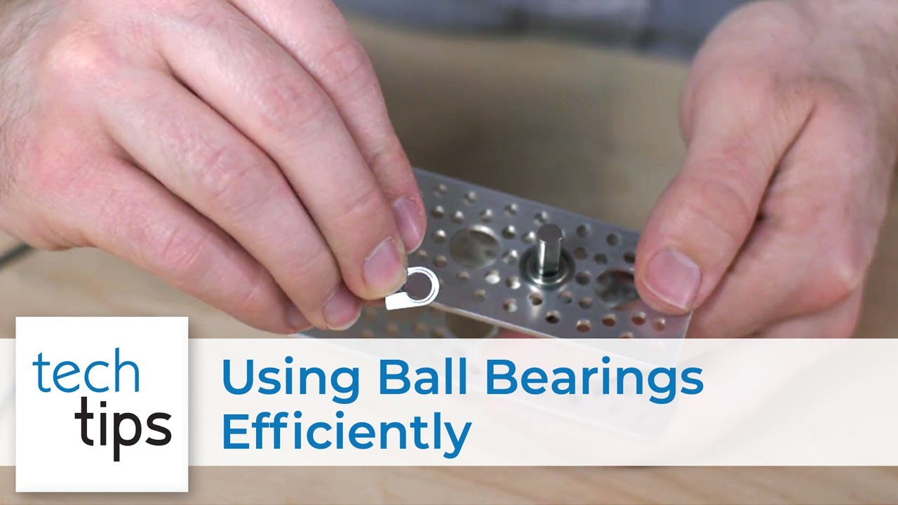 Using Ball Bearings Efficiently
