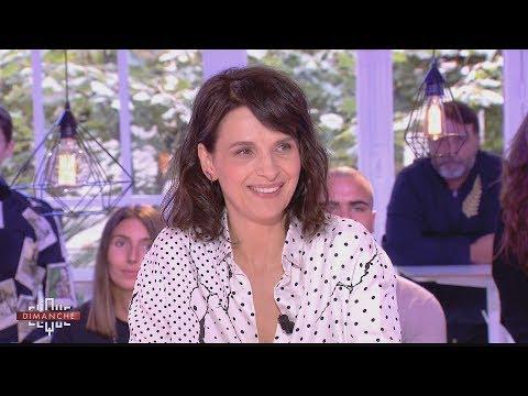 Interview de Juliette Binoche  - Clique Dimanche du 24/09 - CANAL+
