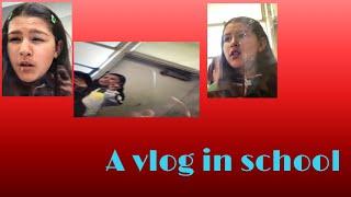 A vlog in school😂