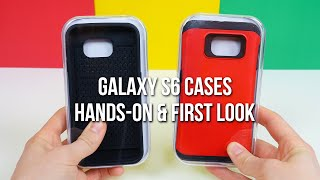 Samsung Galaxy S6 cases hands-on and first look